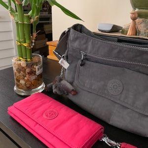 Kipling pink wallet